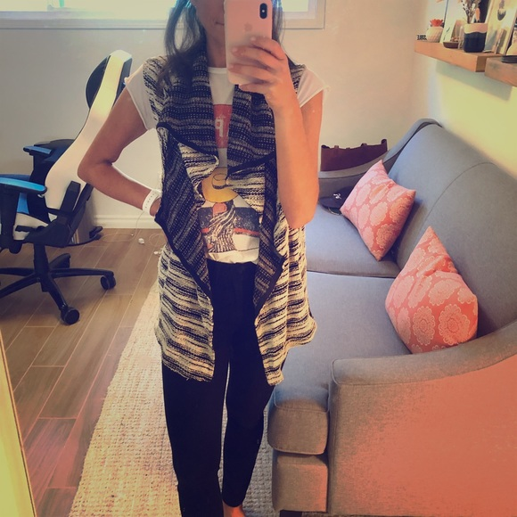 dolan Jackets & Blazers - Sleeveless shawl vest